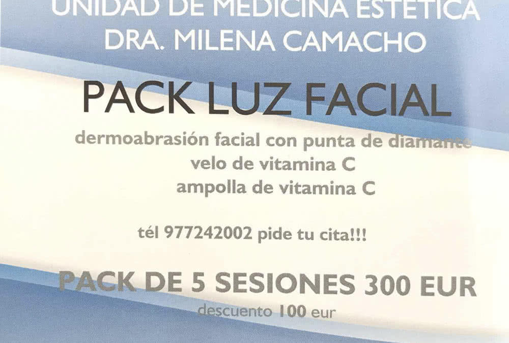 Pack Luz Facial
