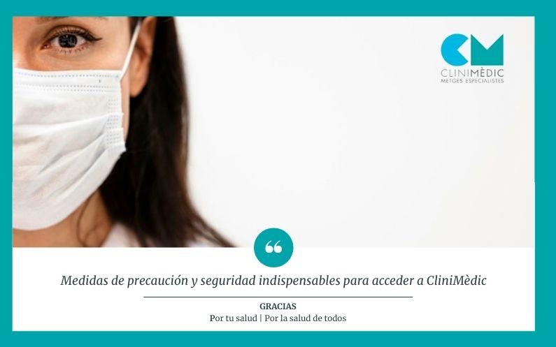 Medidas de seguridad en Clinimèdic